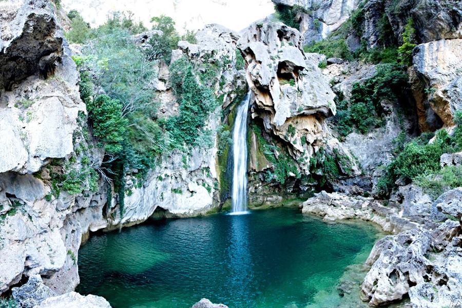 El parque natural de la Sierra de Cazorla, Segura y las Villas.